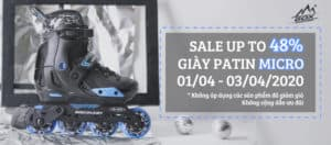 Sale up to 48% giày patin Mic